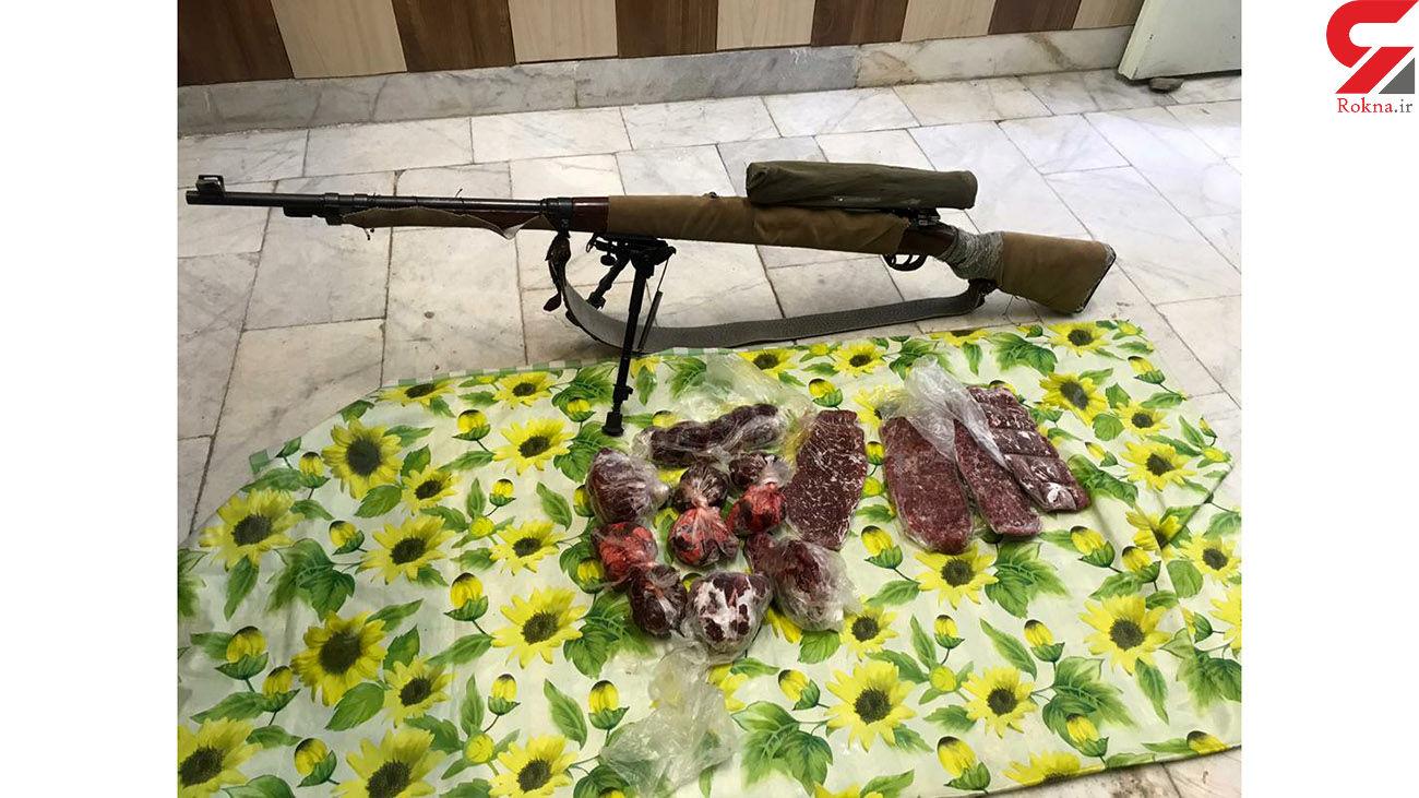 2 شکارچی در دشتستان دستگیر  شدند