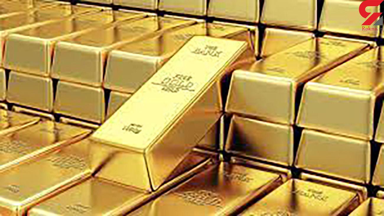 قیمت جهانی طلا امروز جمعه 7 خرداد
