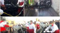 تصادف مرگبار در کرمانشاه + عکس