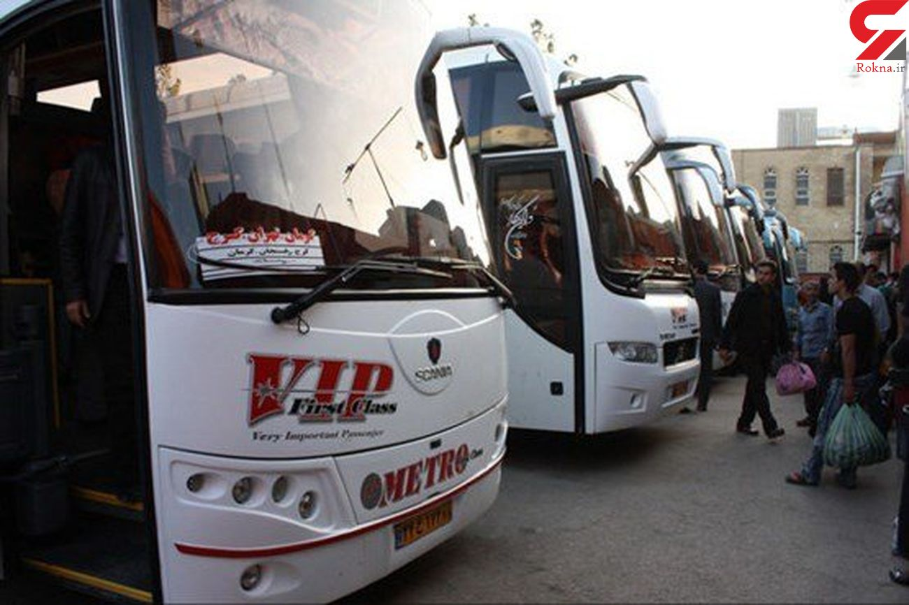 افزایش ۳۱ درصدی سفر با اتوبوس در خراسان رضوی
