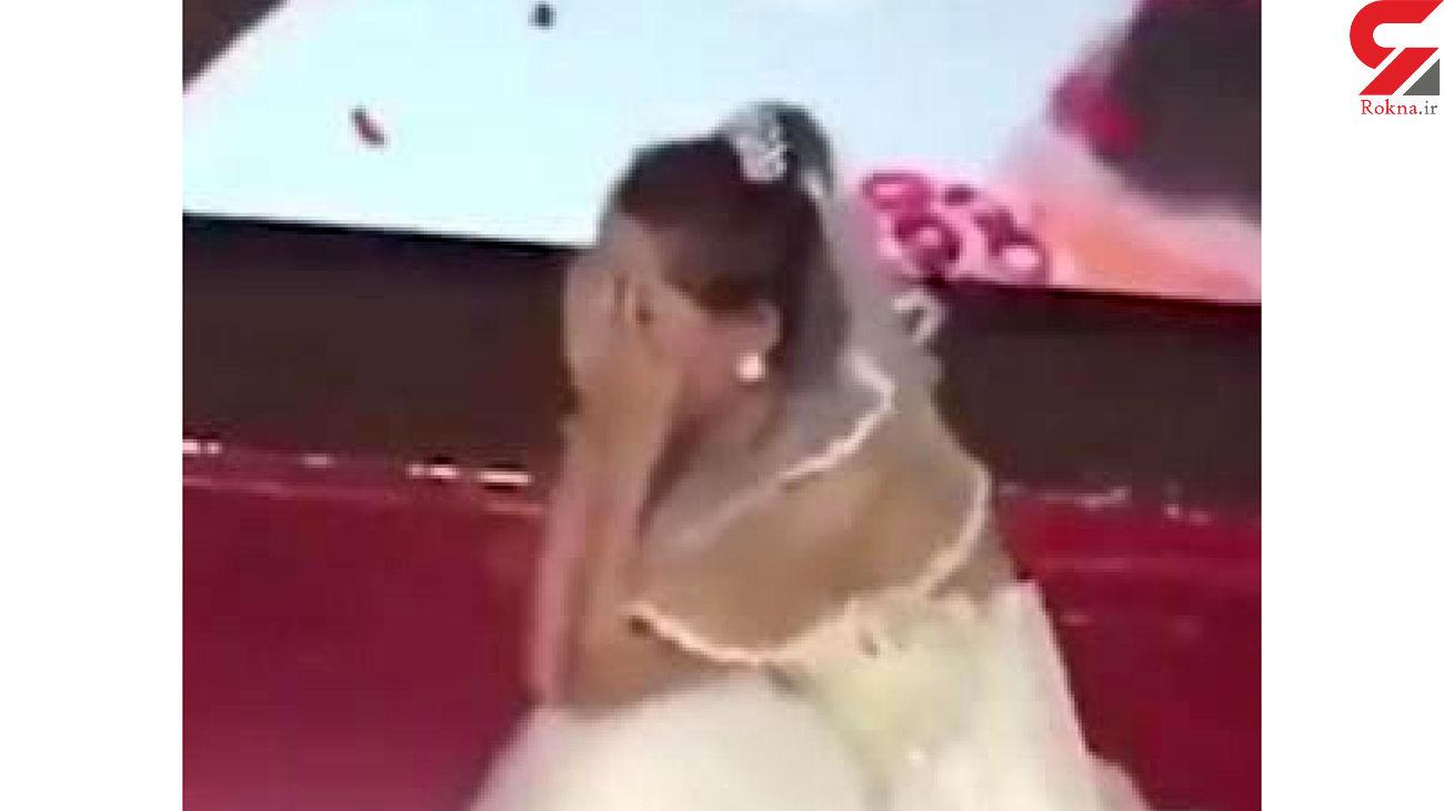 کار عجیب زن جوان در عروسی نامزد سابقش + عکس