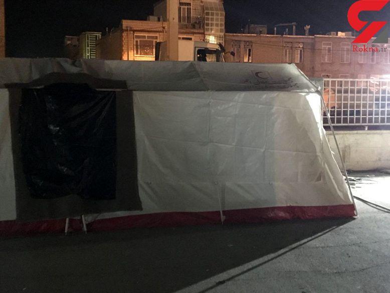 فوری / انفجار در چادر خبرنگاران سرپل ذهاب + عکس