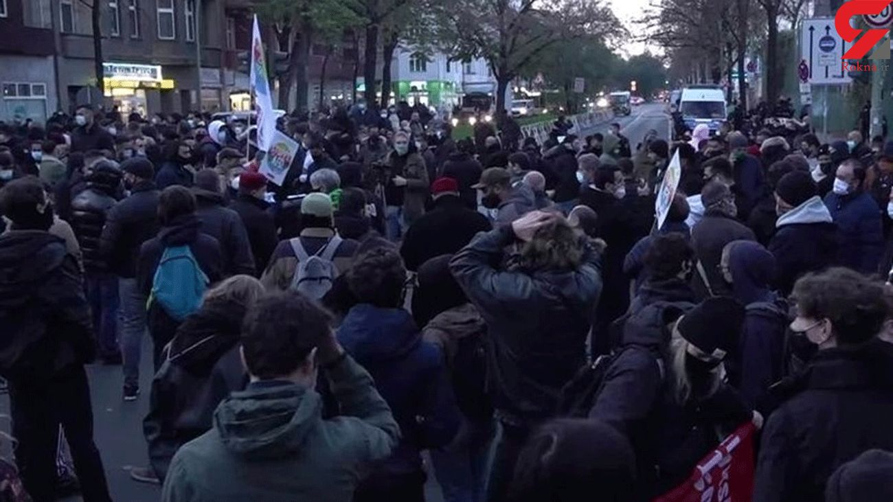 Protesters Hold Demo against 'Quran-Burning' Rally in Berlin