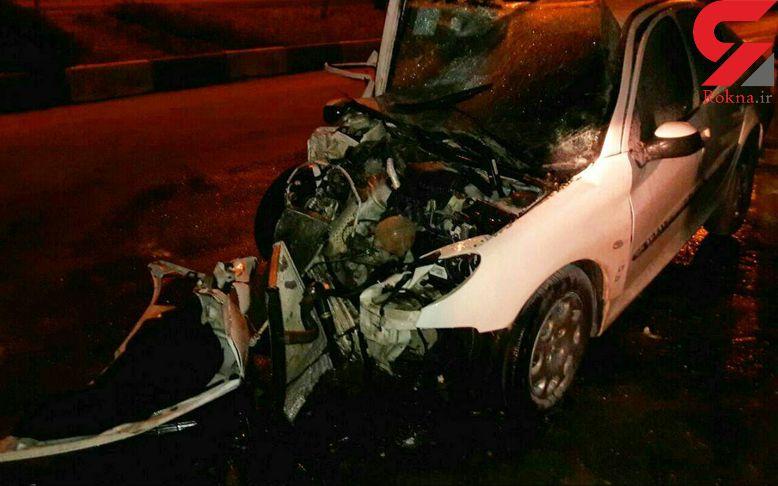 یک مصدوم در حادثه رانندگی جاده خرم آباد - الشتر