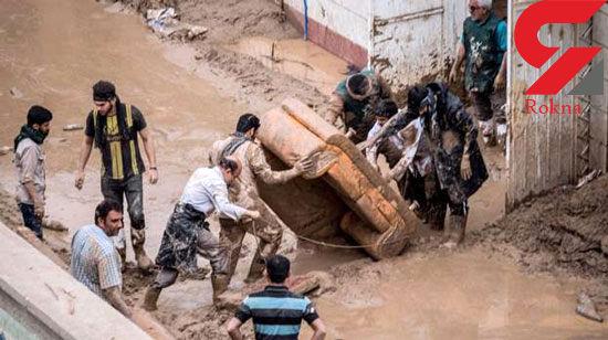 وضعیت تاسف برانگیز سیل زدگان پلدختر / اینجا سیل آمده یا زلزله +عکس