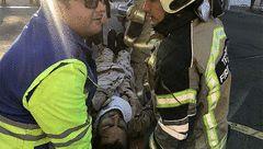 سانحه ای هولناک در خیابان تهرانسر +تصاویر