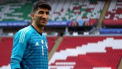 خط و نشان بیرانوند برای دو ستاره فوتبال جهان: شکارشان می کنم!