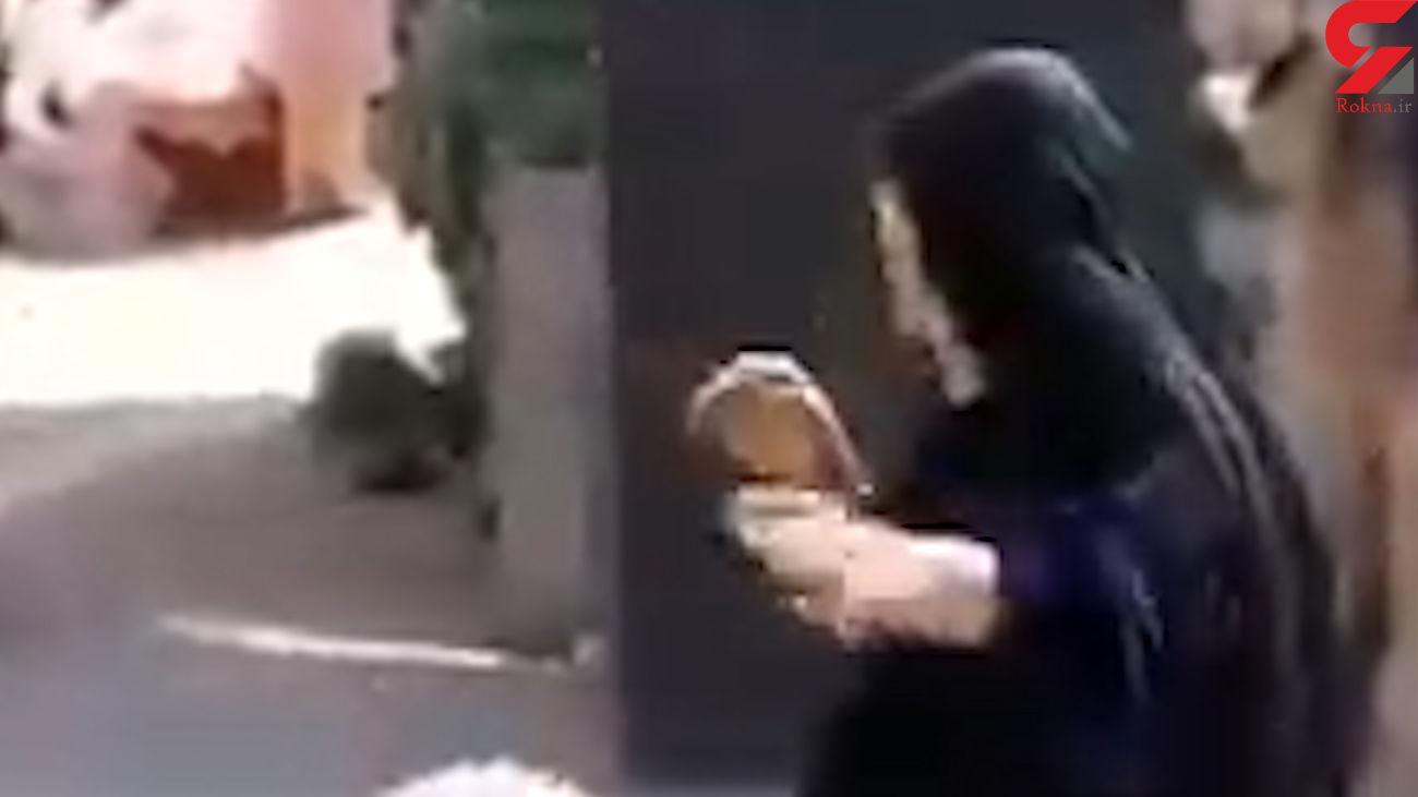فیلم دستمالی بدن زن چادری در بازرسی یک مامور / جنجالی شد