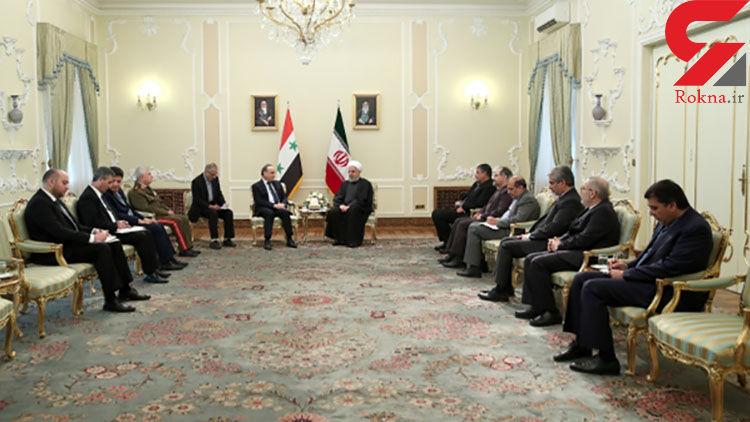 اراده جمهوری اسلامی ایران توسعه، تقویت و تحکیم بیش از پیش و همه جانبه مناسبات و همکاریهای تهران – دمشق است