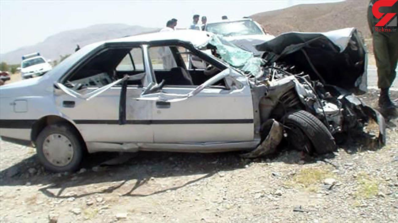 تصادف مرگبار در جاده دیواندره / 3 کشته و 4 زخمی