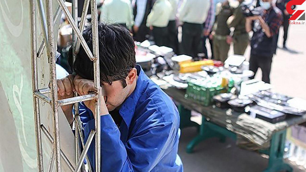 کتک زدن زن تهرانی جلوی چشم کودک 5 ساله اش