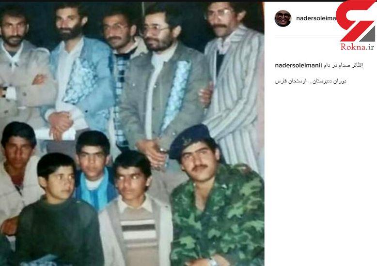 عکس زیرخاکی بازیگر «قهوه تلخ» در هیبت فرماندهان ارتش صدام