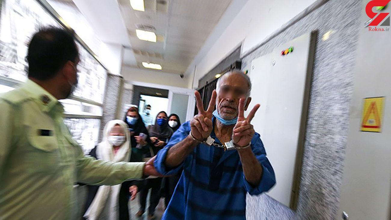 عکس افتخارآمیز از پدر بابک خرمدین در قتل سریالی + 15 عکس ناباورانه اسفناک