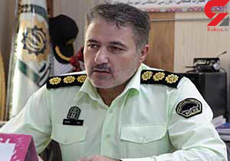 سارقان خانه باغهای مهاباد دستگیر شدند
