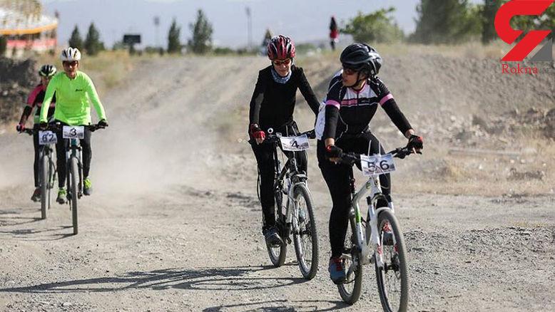 بلای وحشتناک بر سر 2 دختر جوان که دوچرخه سواری می کردند !