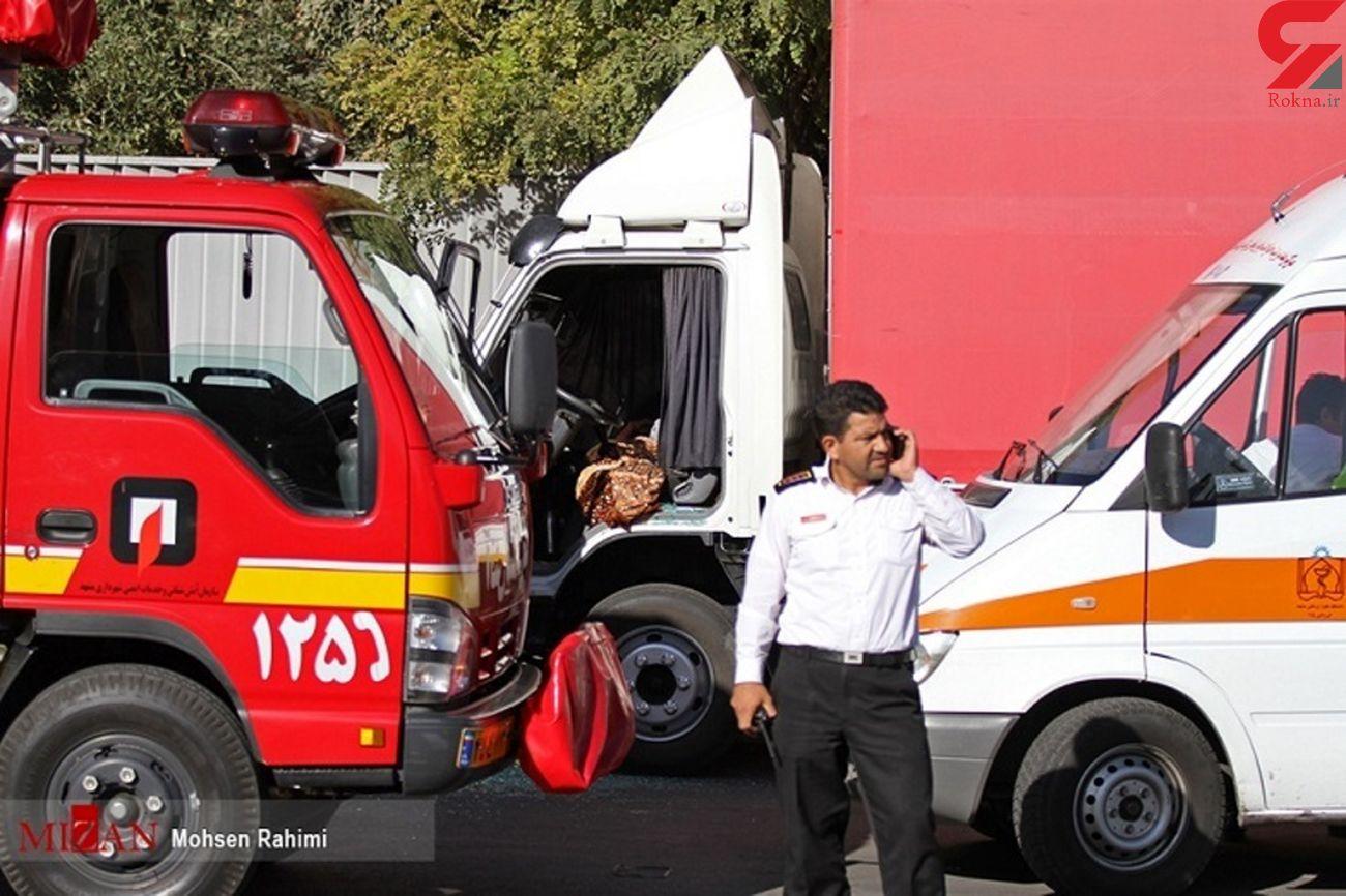 توقف کامیون در حاشیه راه عامل فوت راننده پراید شد