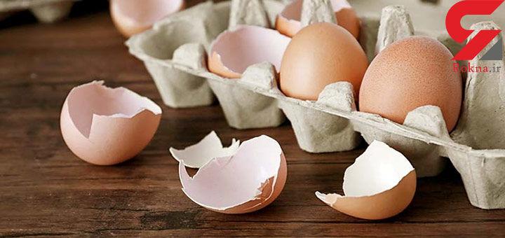 خواص عجیب و باورنکردنی نهفته در پوست تخم مرغ