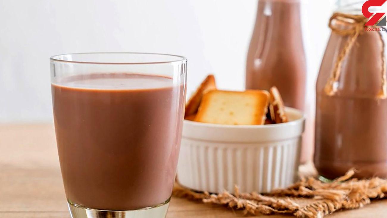 به کودکان صبحانه شیرکاکائو ندهید !