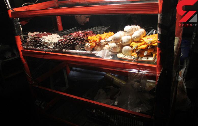 موش های نروژی شریک غذای تهرانی ها در میدان امام حسین (ع) / جگر دوست دارند! + تصویر