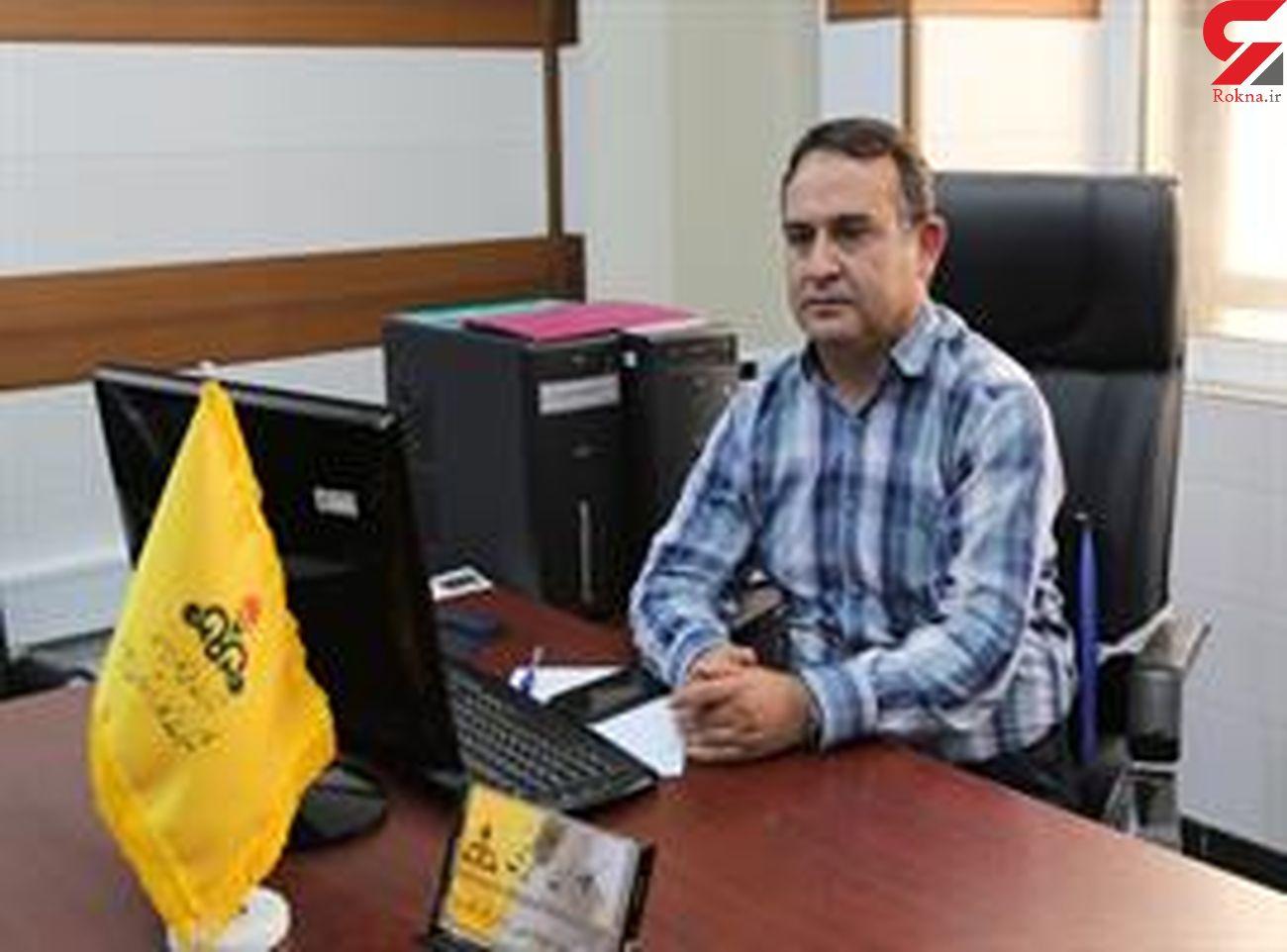بزرگترین گلخانه صنعتی استان در شهرستان هلیلان گازدار شد