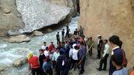 فیلم و عکس از  عملیات 3 ساعته نجات در غار چما کوهرنگ