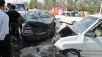 2 کشته در تصادف شدید در بزرگراه باکری+عکس
