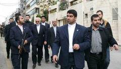 درگیری محافظان ظریف با خبرنگاران /آقای وزیر عذرخواهی کرد