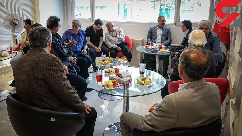 جشن روز خبرنگار با حضور پیشکسوتان مطبوعات در رکنا + عکس و فیلم