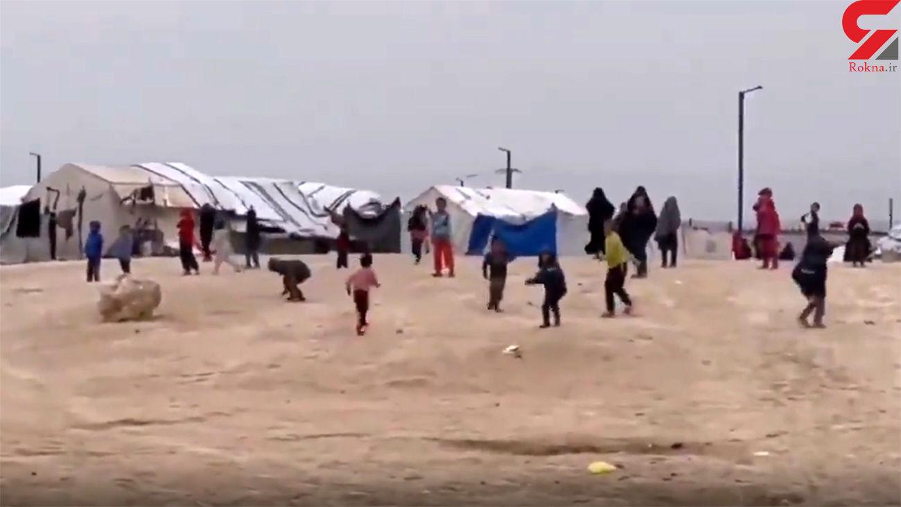 تهدید خبرنگار زن توسط پسر بچه های داعشی/ سر بی حجابت را از تن جدا می کنیم  + فیلم