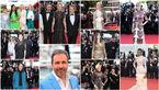 حضور سلبریتی های مشهور روی فرش قرمز جشنواره کن +تصاویر