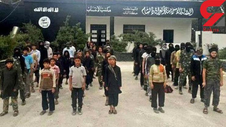 شلاق خوردن کودکان داعشی به خاطر فوتبال!