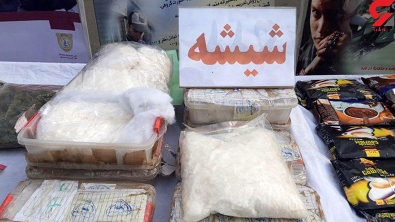 کشف بیش از 10 کیلو شیشه در شیراز