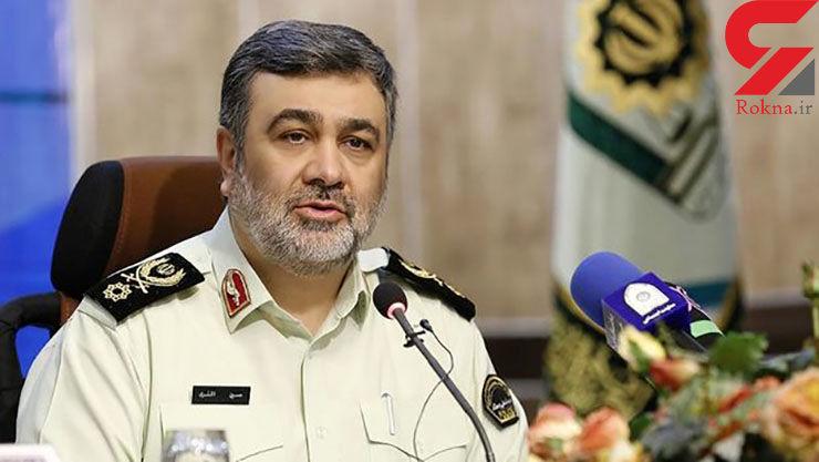 واکنش فرمانده ناجا به ویدئوی زیر گرفتن دو مامور پلیس