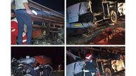 اسامی کشته شدگان و مصدومان تصادف مرگبار اتوبوس مسافربری یزد / بامداد امروز رخ داد
