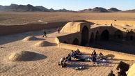 270 مسافر نوروزی در کویر مرنجاب گم شدند / آنان مسافر 8 اتوبوس بودند