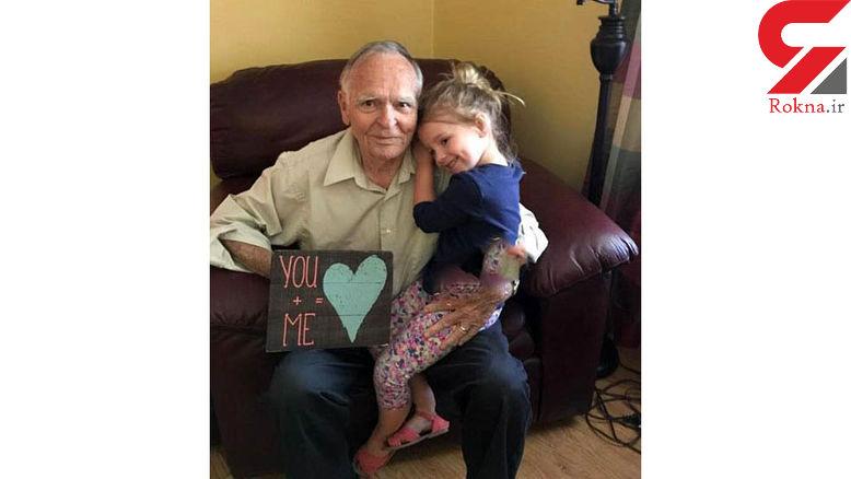 دوستی عجیب میان این دختر بچه با پیرمرد 82 ساله+عکس