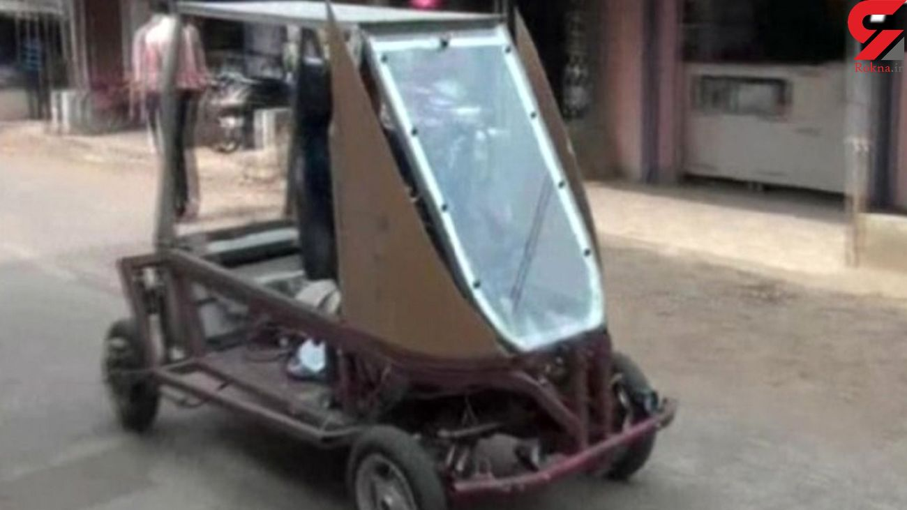 ساخت خودرو خورشیدی در قرنطینه کرونایی + فیلم