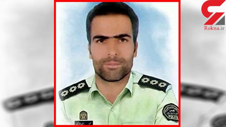 جزییات لحظه شهادت محمود رفیعی مامور پلیس اصفهان هنگام فرار 2 مجرم + عکس