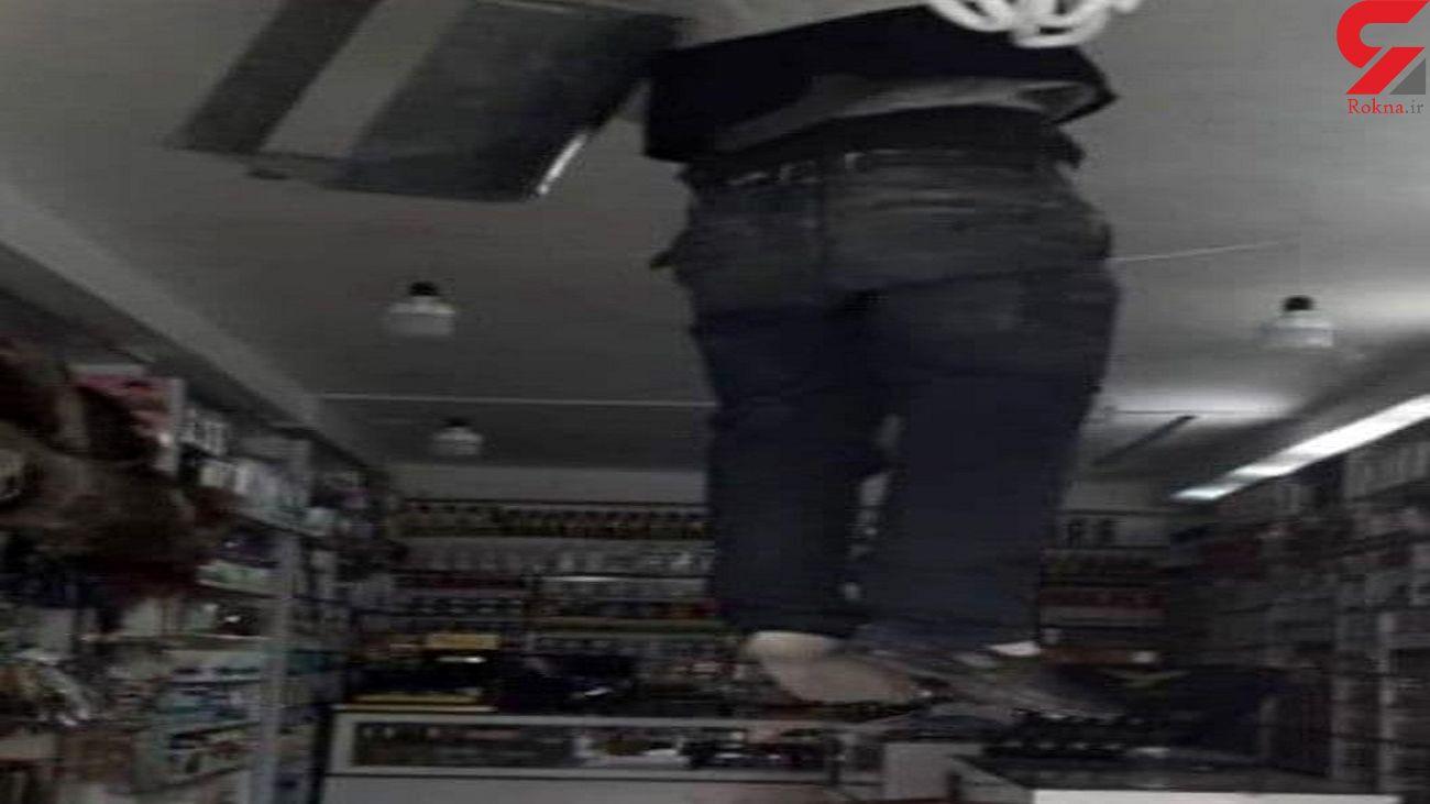 راز مرگ مرد خرم آبادی در داخل کانال کولر + فیلم حادثه