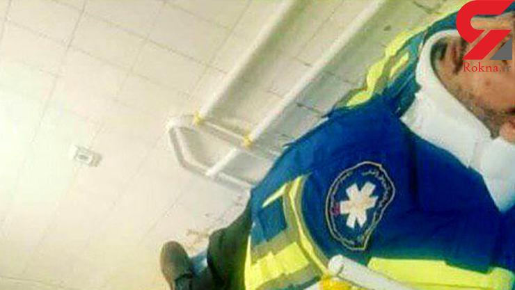 بیمار ملایری تکنسین اورژانس را سرحد مرگ کتک زد + عکس