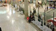 مسافران در فرودگاه امام خمینی تست کرونا می دهند