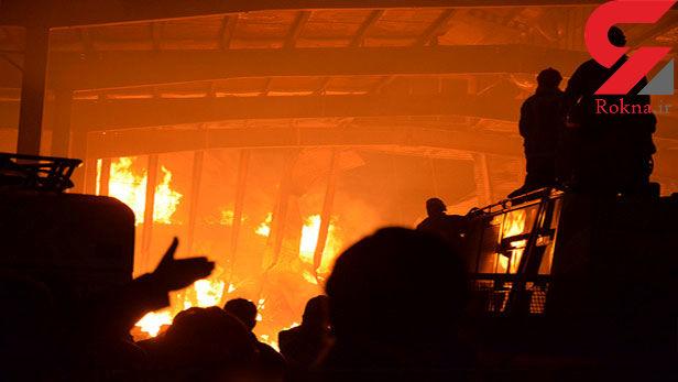 عکس های هولناک از آتش سوزی مرگبار در ایران چسب + جزئیات