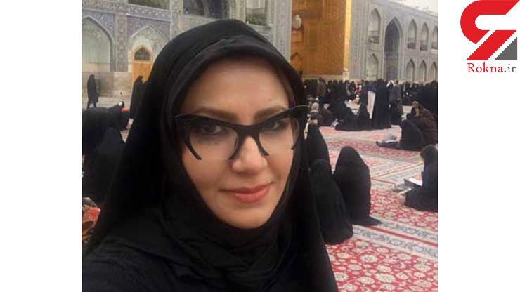 پوشش ملیکا زارعی در حرم امام رضا (ع) +عکس