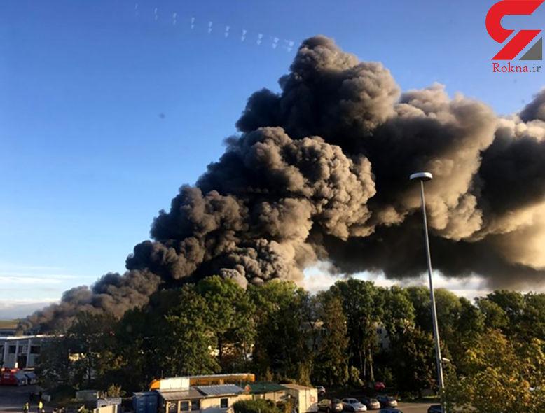 انفجار وحشتناک در نزدیکی فرودگاه «لینز» اتریش