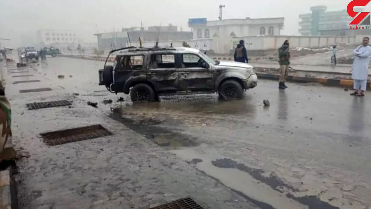 انفجار کابل 4 زخمی بر جا گذاشت + عکس