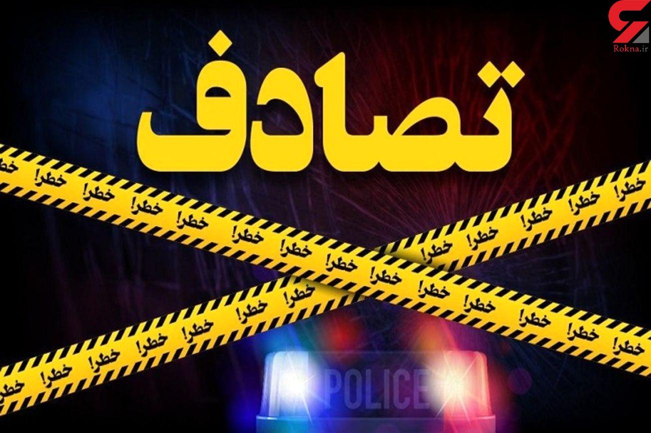 راننده پژو 206 جوان تهرانی را له کرد / در همت رخ داد