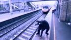 یک زن نگذاشت مردی در مترو خودکش کند! + فیلم عجیب