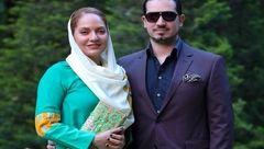 صبر مهناز افشار و همسرش به سر آمد +عکس
