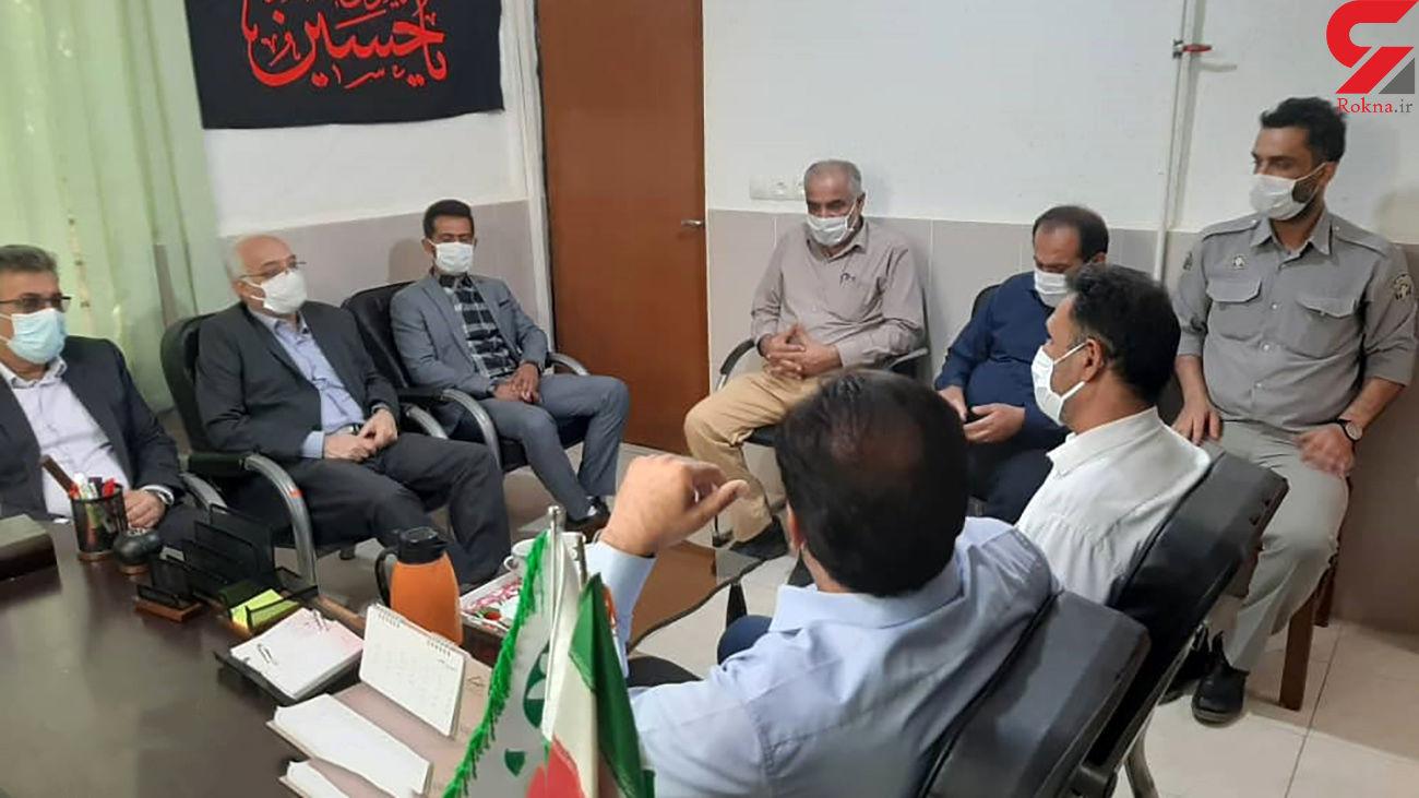 معرفی رئیس جدید اداره محیط زیست مسجد سلیمان