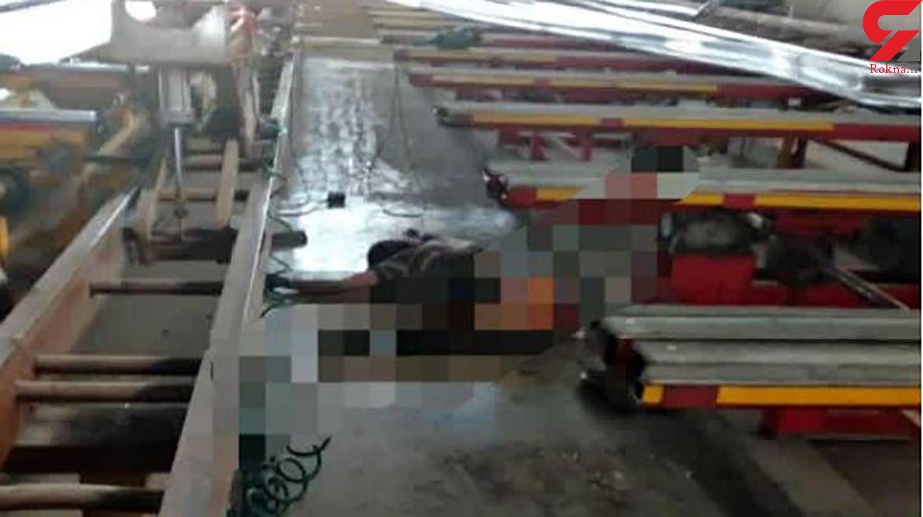 مرگ کارگر جوان اشک همه را در یزد در آورد / او مظلومانه جان داد + عکس